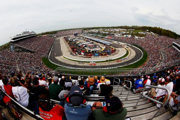 NASCAR Sprint Cup: 10 Drivers Who'll Be in the Running at Martinsville