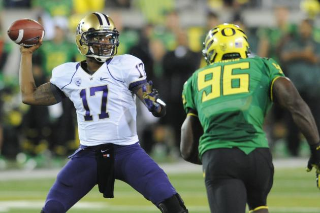Stock Up, Stock Down for 2013 NFL Draft Prospects, NFL Week 8 Edition