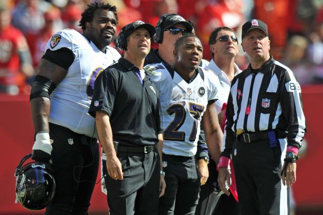 Baltimore Ravens: Midseason Grades for the 2012 Ravens