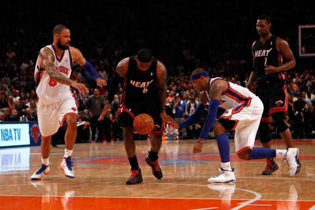 Predicting the New York Knicks' Key Team Stats in 2012-13
