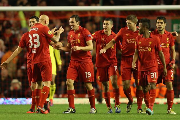 Rating the Liverpool Players in 1-0 Win Against Anzhi Makhachkala