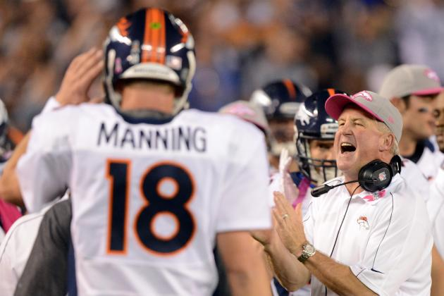 Denver Broncos: Full Midseason Report-Card Grades for Peyton Manning