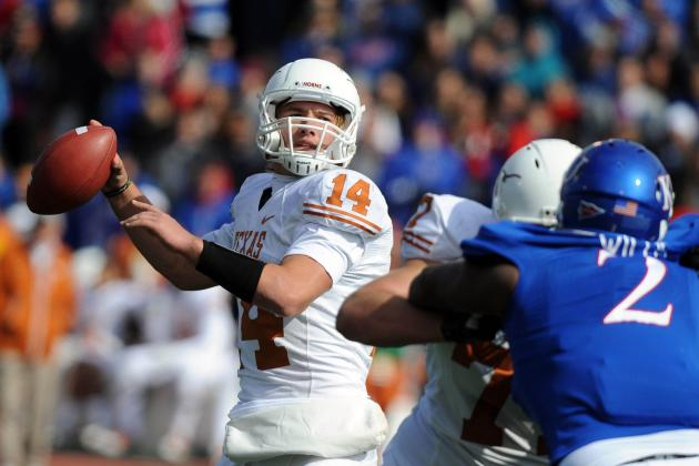 Texas Football: Grading All 22 Starters from the Kansas Game