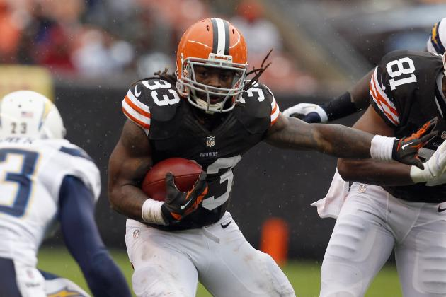 Cleveland Browns Week 8 MVPs: Trent Richardson Earns Top Dawg Bone
