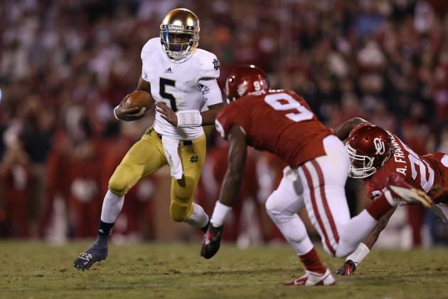 Notre Dame Football: Grading Winners and Losers from Week 9 Win over Oklahoma