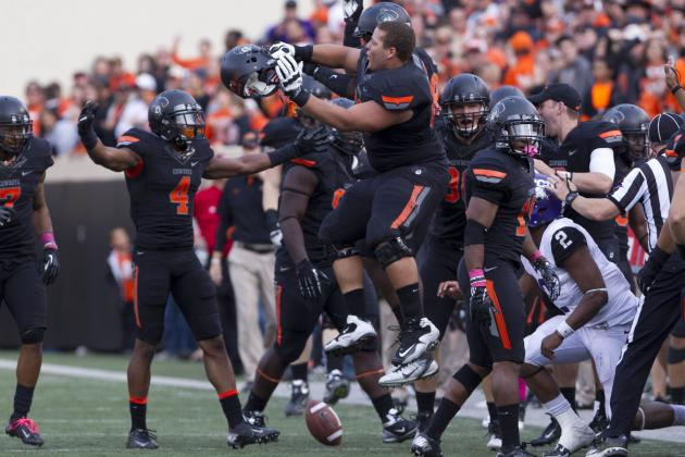 Oklahoma State Football: Grading All 22 Starters from the TCU Game