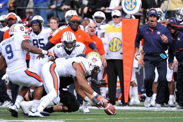 Auburn Football: Winners and Losers from Week 9 Game vs. Texas A&M
