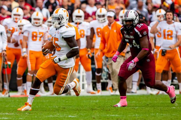 Tennessee Vols Football: Winners & Losers from Week 9 Game vs. South Carolina
