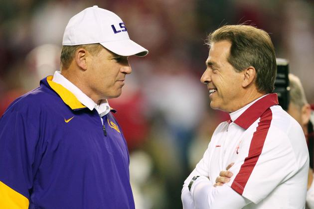 Odds on Which Team Will Knock No. 1 Alabama from the Top of the BCS Rankings