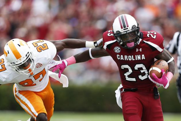 Tennessee Football: Grading All 22 Starters from the South Carolina Game