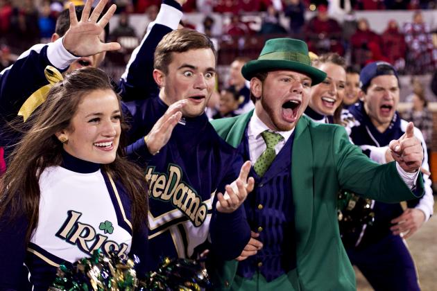 Notre Dame Football: 5 Teams in BCS Top 10 Fighting Irish Could Beat