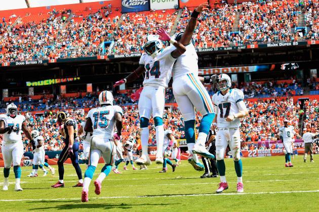 Miami Dolphins Midseason Grades by Position