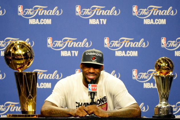 Where and When LeBron James Became the Most Unstoppable Star Ever