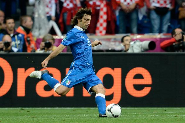 Top Must-See Goals of Andrea Pirlo's Brilliant Career
