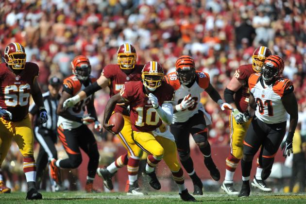 Washington Redskins: Ranking the Games of the Second-Half Schedule