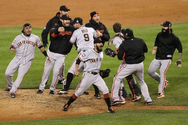SF Giants: Ranking the 21 Greatest Moments from Their Magical Playoff Run