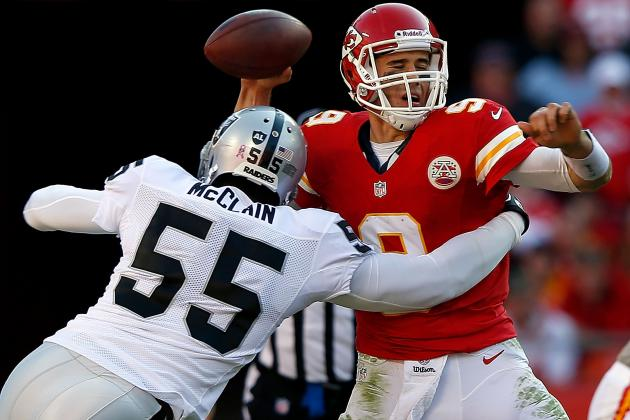 Oakland Raiders: 5 Moves Silver and Black Should Make at NFL Trade Deadline