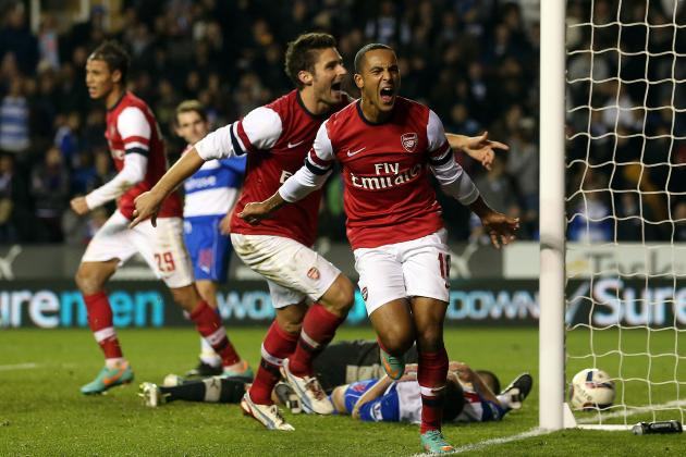 Reading vs. Arsenal: 6 Things We Learned in Capital One Cup