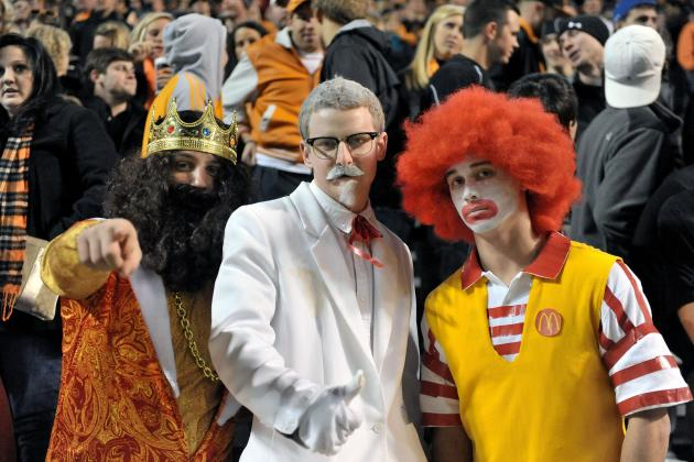 SEC Football: What Each Coach Handed out to Halloween Trick-or-Treaters