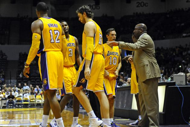 Complete L.A. Lakers Player Power Rankings For Start of 2012-13 NBA Season