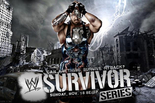 WWE Survivor Series 2012: 5 Other Possible Traditional 5-on-5 Matches