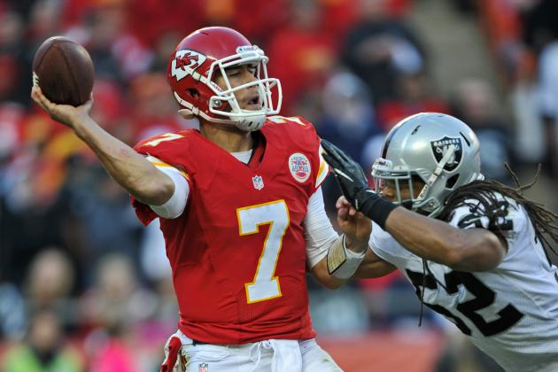 Reasons Matt Cassel Isn't the Kansas City Chiefs' Answer at QB