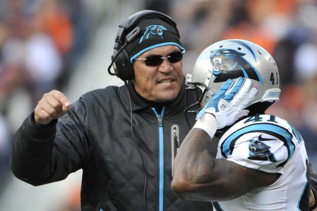 Ron Rivera, Carolina Panthers Coaches Are to Blame for Close Losses This Season