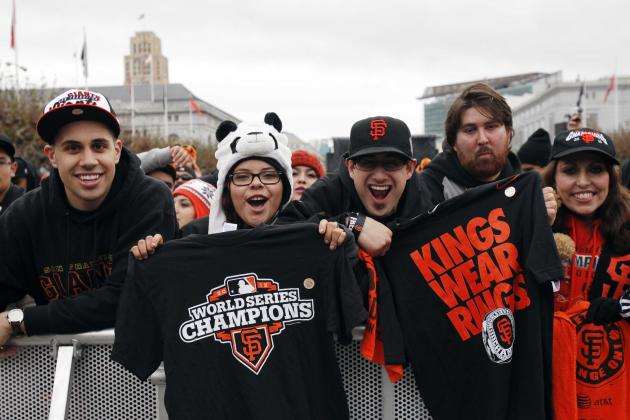 Best Images from SF Giants 2012 World Series Parade