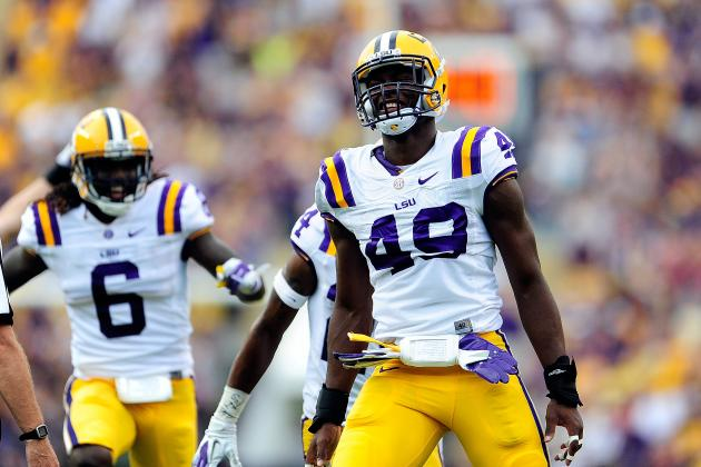 Alabama vs. LSU: Power Ranking Top NFL Talent in SEC Showdown