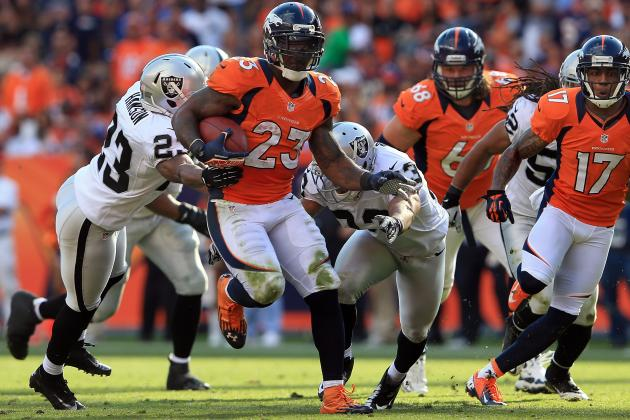 Fantasy Football: Willis McGahee Leads 'Start-or-Sit' Scenarios for Week 9