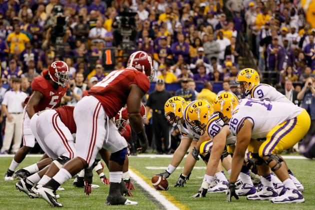 LSU Football: 5 Keys to the Game vs. Alabama