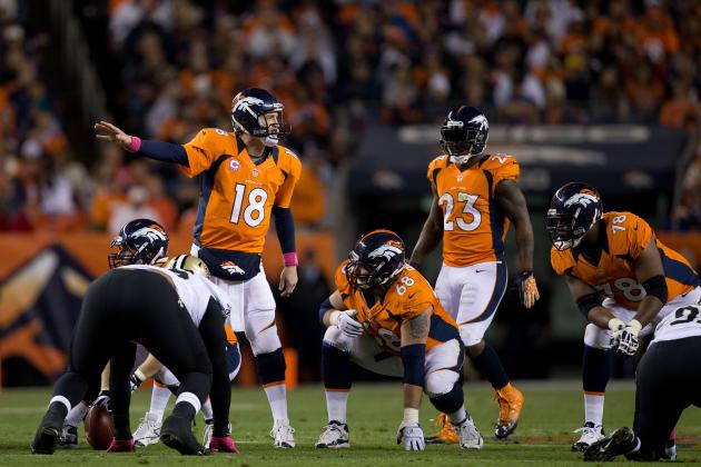 Denver Broncos Helping Peyton Manning Hit His Stride