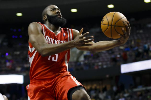 Current Third Options on NBA Teams Who Will Be the Next James Harden