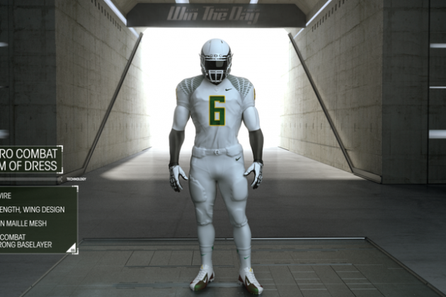 Grading Oregon's New White Vapor Uniforms for Matchup vs. USC Trojans