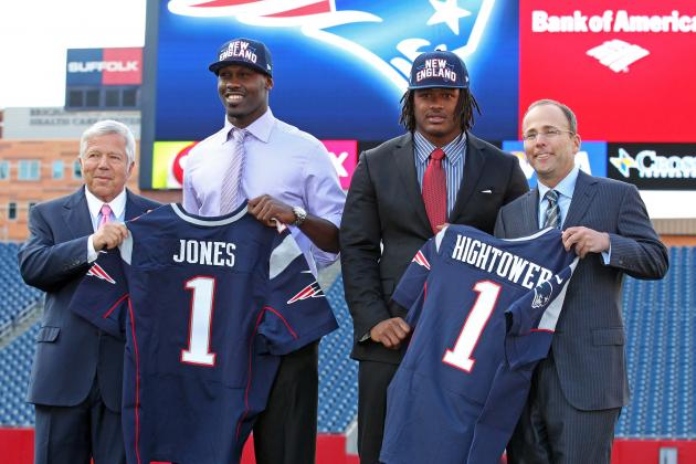 Re-Drafting New England Patriots' 2012 Draft After First Half of NFL Season
