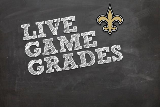 Eagles vs. Saints: Final Report Card, Grade for New Orleans