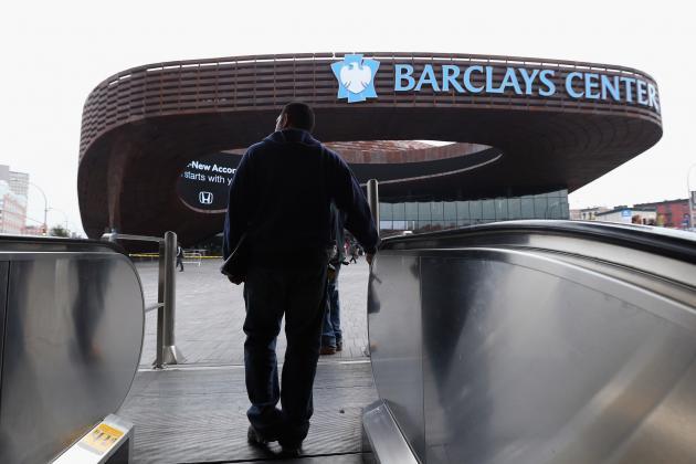 Toronto Raptors vs. Brooklyn Nets: Inaugural Game at the Barclays Center