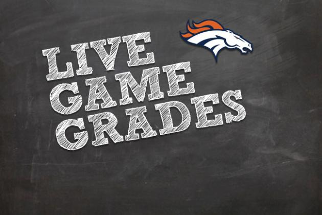 Denver Broncos vs. Cincinnati Bengals: Live Game Grades & Player Analysis
