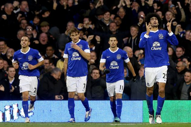 Everton vs. Fulham: 5 Things Learned from Today's 2-2 Draw