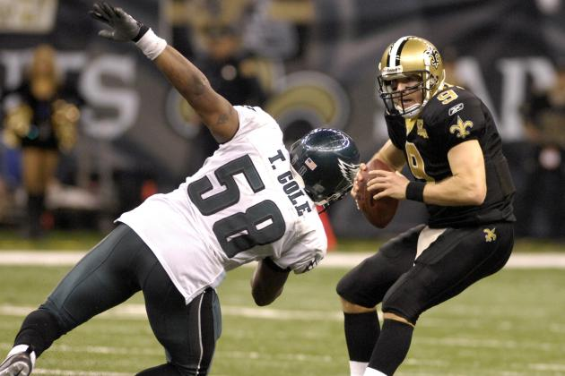 Power Ranking 25 Most Pivotal Players in Eagles-Saints Game