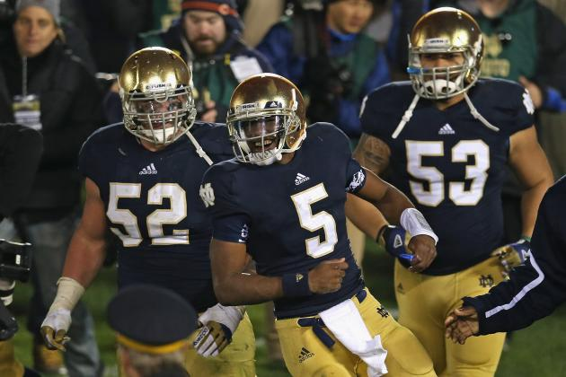 Notre Dame Lackluster Performance vs Pitt Proves Irish Aren't BCS Title-Worthy