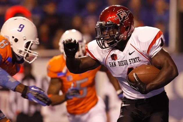 Boise State Football: Grading All 22 Starters from the San Diego State Game