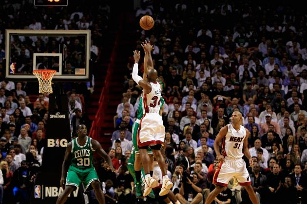 Six Reasons Why Ray Allen Is Thriving with the Miami Heat