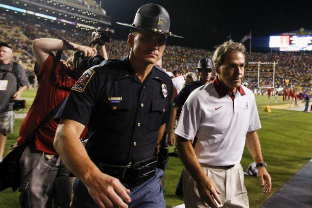Alabama Football: Winners and Losers from the Tide's Week 10 Win over LSU
