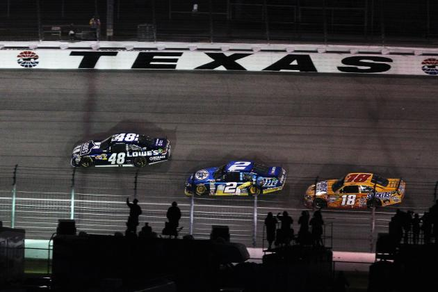 Updated NASCAR Chase for the Championship Odds After Texas