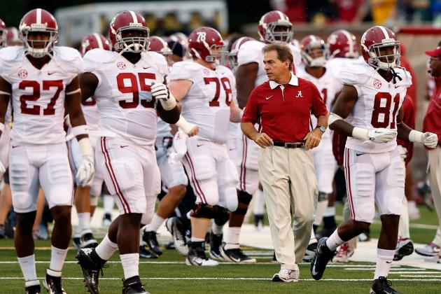 BCS Rankings 2012: Alabama Is Clearly No. 1, but Who's the Real No. 2 Team?