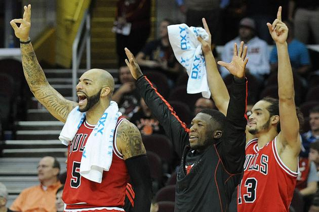 Initial Report Card Grades for Every Chicago Bulls Player