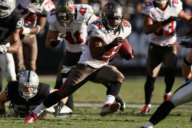 Fantasy Football: Doug Martin Headlines Sunday 'Dream Team' for Week 9