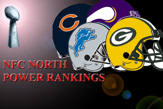 NFC North Week 9 Power Rankings