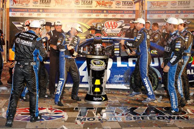 NASCAR Power Rankings: Top 20 Drivers Coming out of Texas